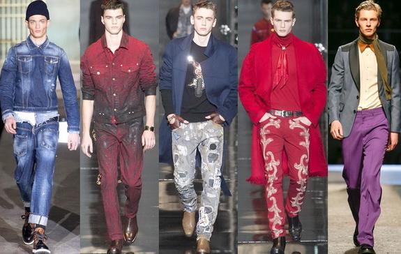 Модные бренды мужских джинсов