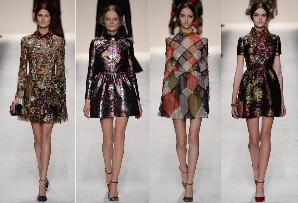 Модные платья осень-зима