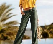 Образы с летними брюками