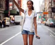 Образы с летними шортами
