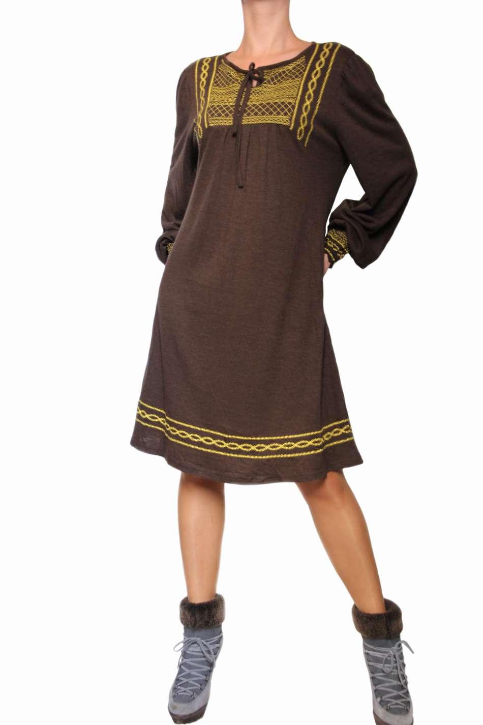 Купить Платье В Этно Стиле