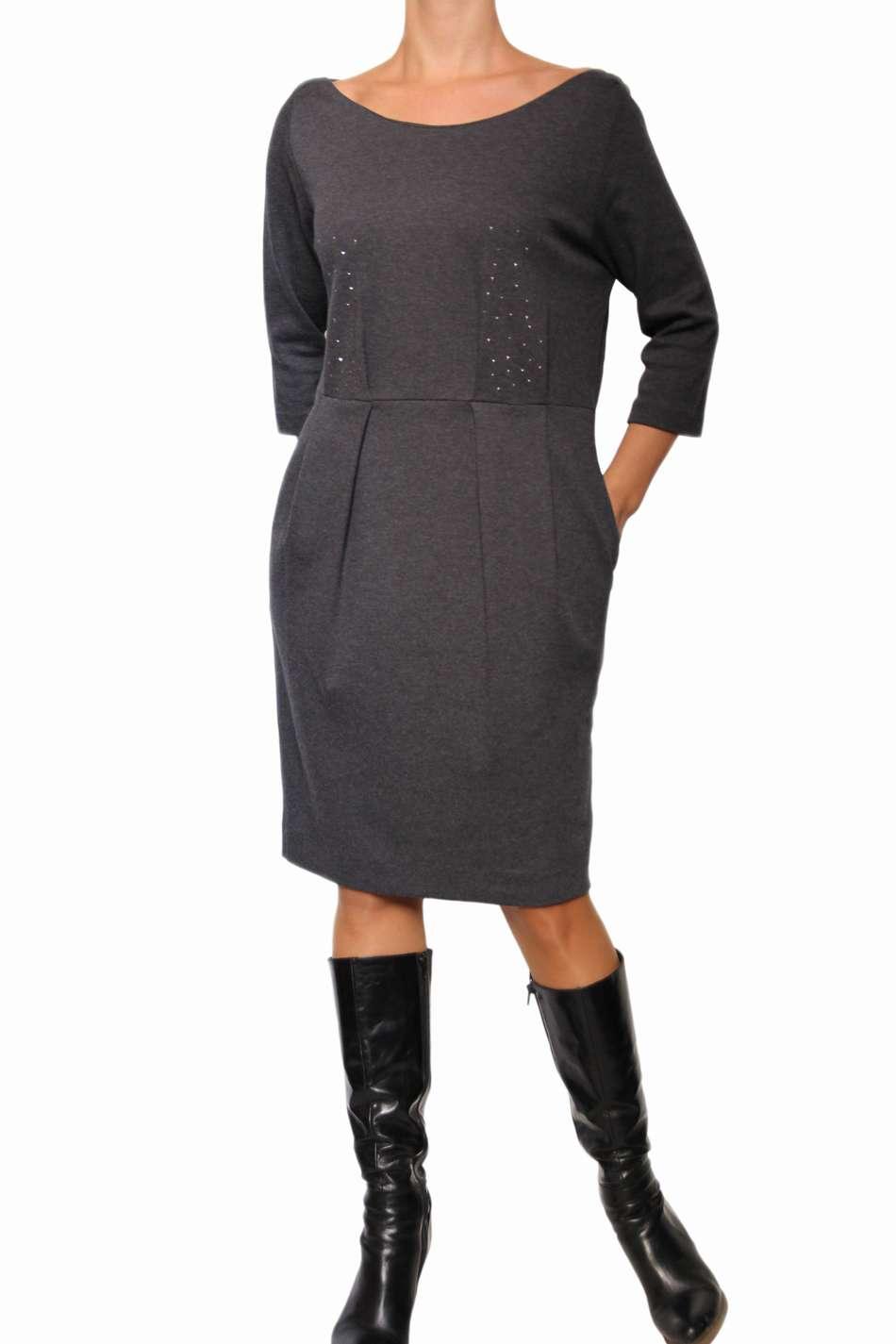 Платье Из Шерсти Купить
