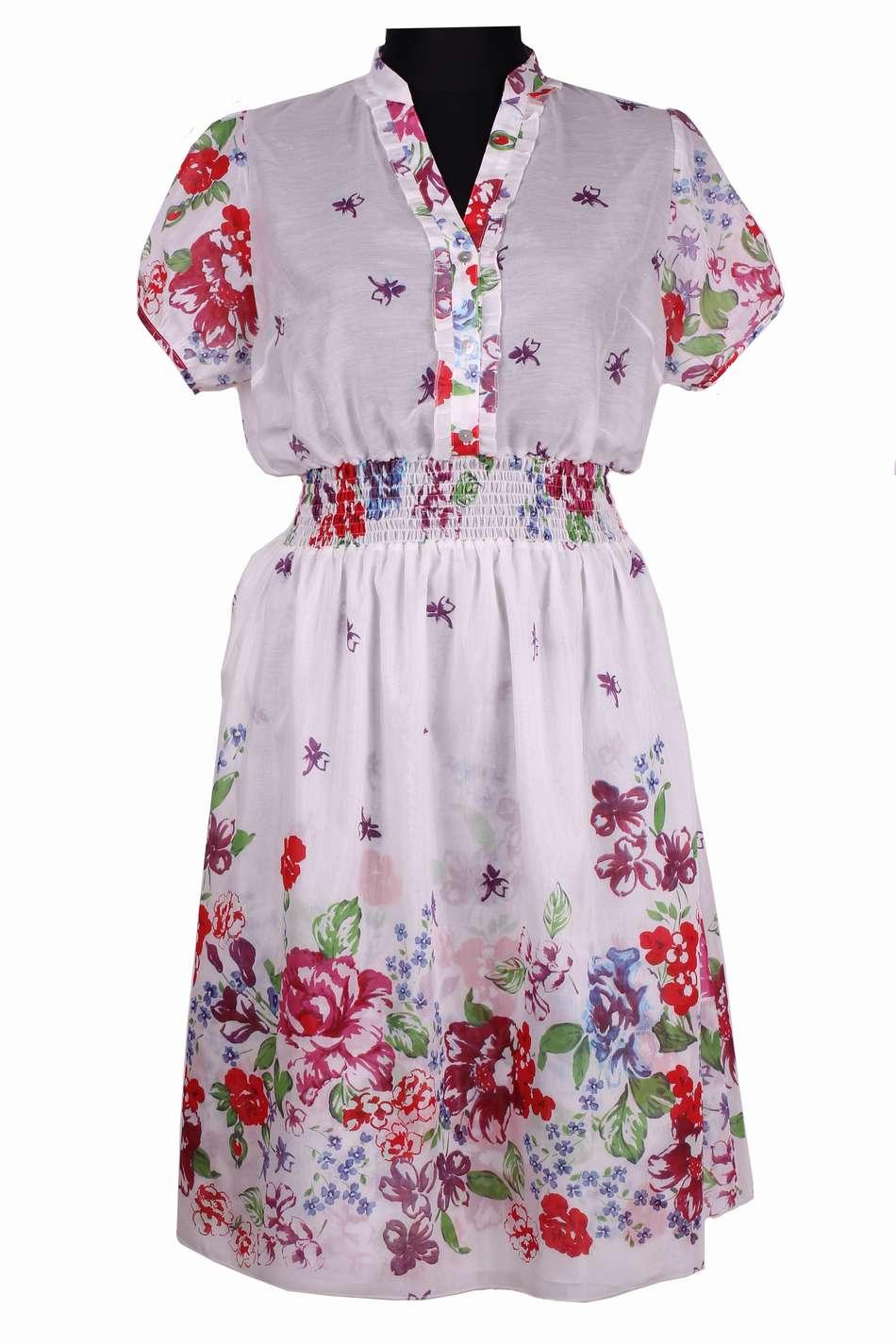 Платье из маркизеты