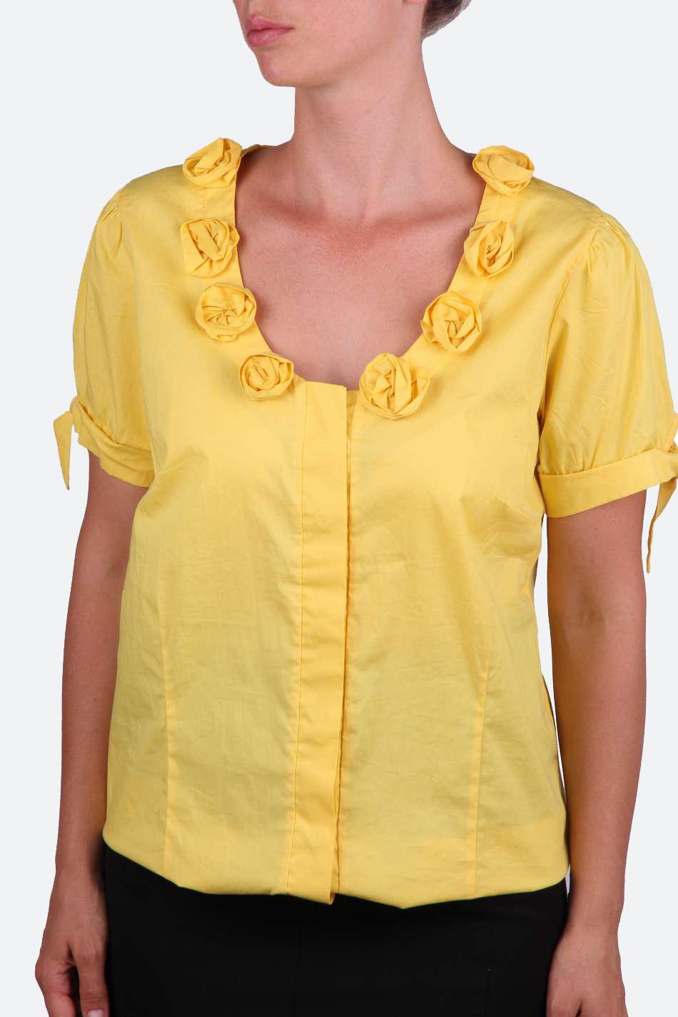 Купить Желтую Блузку В Красноярске