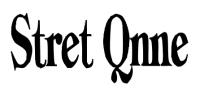 Stret Qnne /Турция/