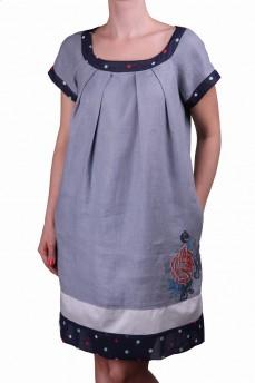 Платье с цветным горошком
