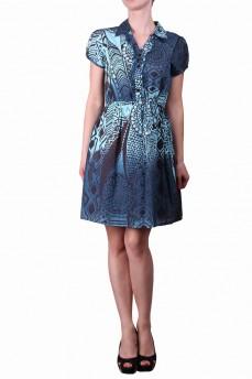 Платье голубое