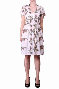 Платье в листок