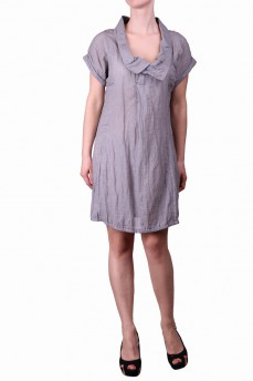 Платье с металлизированной нитью