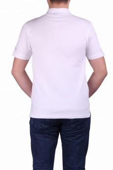 Поло белого цвета