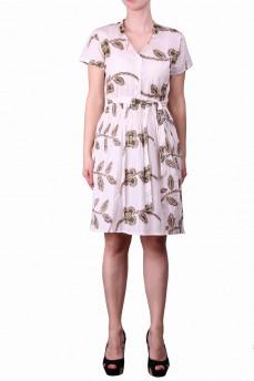 Платье кремовое