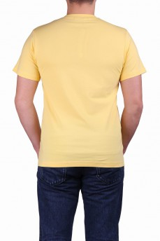 Футболка светло-желтая