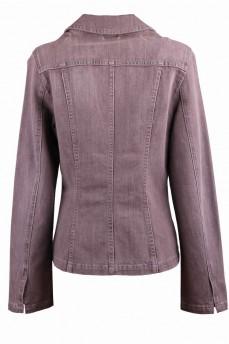 Пиджак деним цвета капучино
