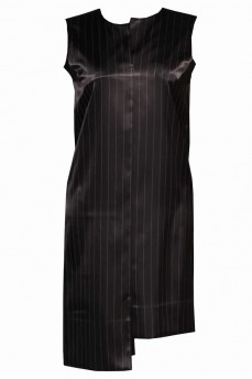 Платье атласное асимметрия