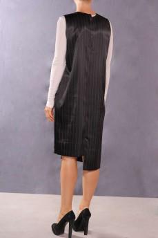 Платье асимметрия атласное