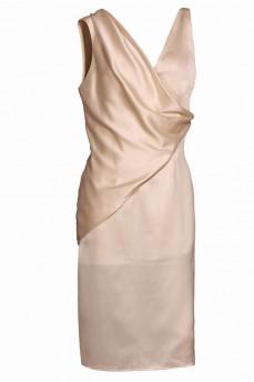 Платье комбинация с жилетом