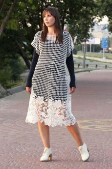 Платье из итальянского кружева