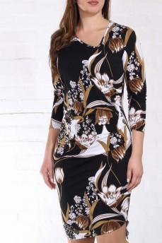 Платье рисунок тюльпаны