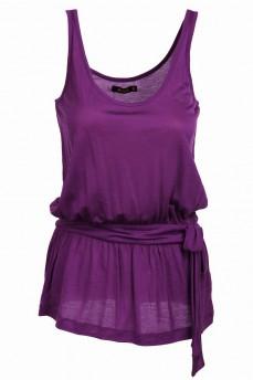 Топ фиолетовый с поясом