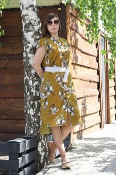 Платье из батиста ирисы