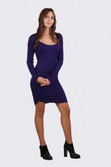 Платье чулок с драпировкой