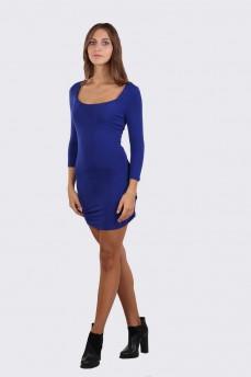 Платье чулок с декольте