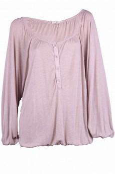 Блуза бежевая в  стиле  крестьянка