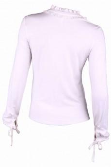 Рубашка трикотажная в романтическом стиле