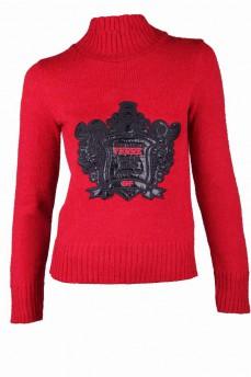 Гольф красный с брендовым логотипом
