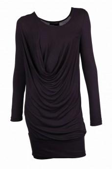Платье-туника черное