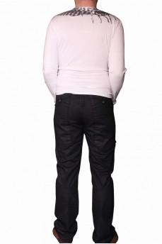 Футболка мужская длинный рукав с рисунком арафатка