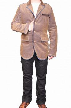 Пиджак мужской из вельветовой ткани