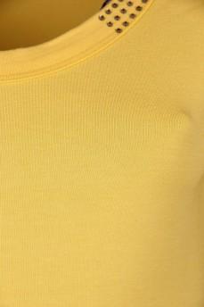Блуза декорированная стразами Swarovski