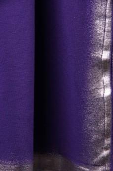 Топ фиолетовый с серебряной накаткой