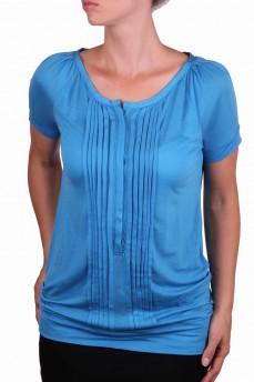 Блуза цвета морской волны