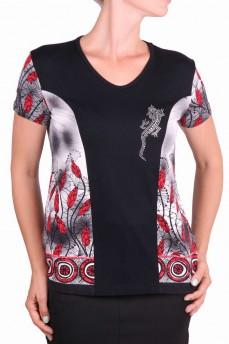 Блуза с рисунком одуванчики