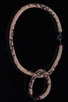 Длинное колье Золотой  Крайола