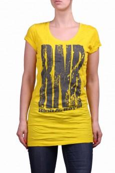 Туника желтая с  буквами