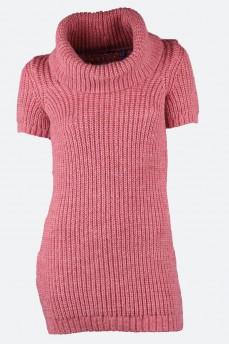 Туника-свитер мохеровый цвета античная роза