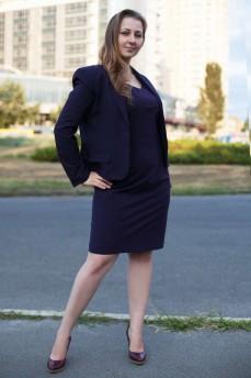 Платье  костюм  делового стиля
