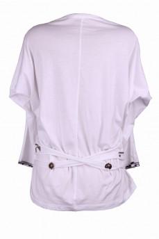 Блуза двойка белая