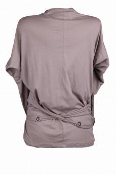 Блуза двойка оливковая
