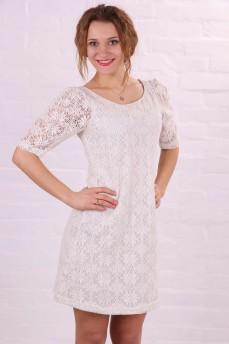 Платье из натурального кружева