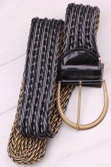 Пояс ремень широкий плетеный