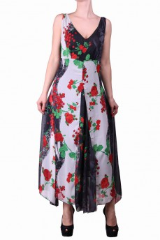 Платье клиньями