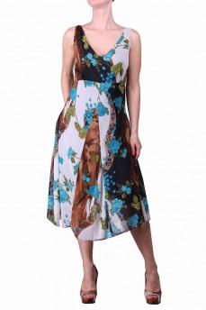 Платье мультиколор