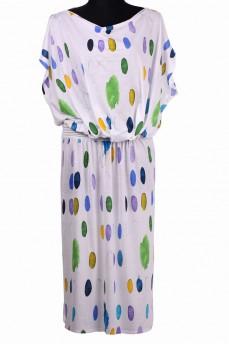 Платье с резинкой  рисунок художественные мазки