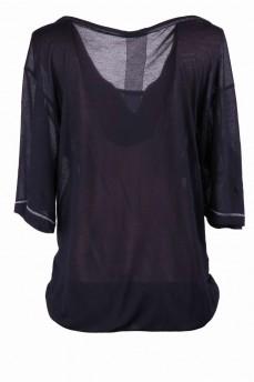 Шелковая блуза туника