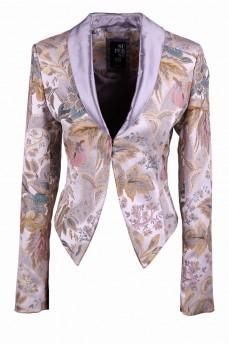 Пиджак укороченный  жаккардовый