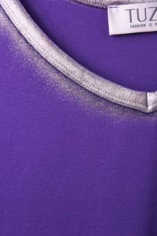 Фиолетовый топ с серебром